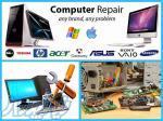 تعمیرات کامپیوتر و لپ تاپ در منزل و محل کار