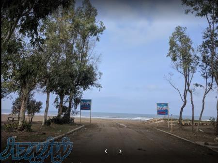 زمین در خط دوم ساحل واقع در چپکرود