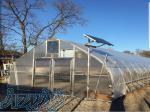پلاستیک سه لایه گلخانه عرض 14 متر 10  uv