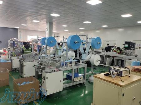 واردات و فروش و نصب و راه اندازی دستگاه تولید انواع ماسک، پد الکلی، دستکش لاتکس و نایلونی