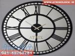 ساعت دیواری آینه ای ATRIX