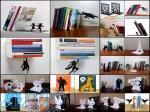 نگهدارنده و غشگیر کتاب خلاقانه و دکوراتیو
