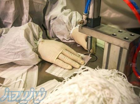 ماسک سه لایه پزشکی درجه یک صادراتی بسته 10عددی