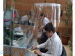 حفاظ طلقی شفاف، ایجاد حفاظ در برابر کرونا، حفاظت از کارکنان در برابر کرونا