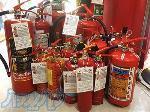 شارژ کپسول آتش نشانی، فروش خاموش کننده دستی