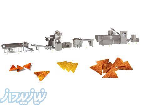 خط تولید چیپس مثلثی (دوریتوز )