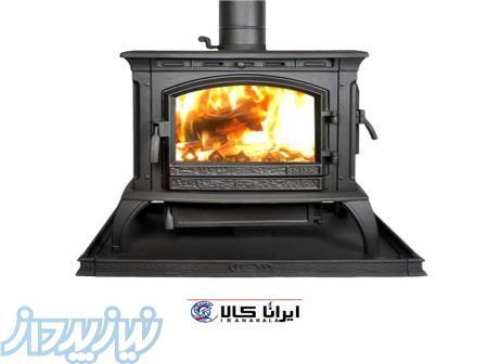 بخاری هیزمی چدنی KARIA-SD118   بخاری ذغالی