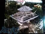 ساخت و نصب آلاچیق ، تعویض آردواز آلاچیق