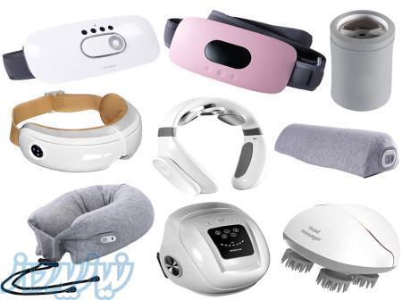 فروش انواع ماساژور چشم ، ماساژور سر ، ماساژور زانو ، ماساژور گردن ، کامپرشن تراپی