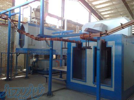 تولید و ساخت کوره تونلی ، سیستم کوره ای پخت رنگ