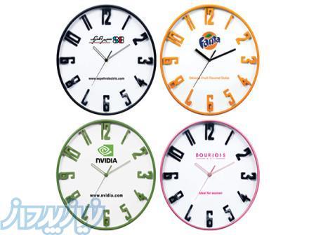چاپ و تولید ساعت دیواری تبلیغاتی در کرج