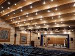 تولید و صادرات صندلی آمفی تئاتر طراحی مشاوره و اجرای سالن های سینما و آمفی تئاتر در سینما چوب