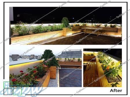 طراحی و اجرای تخصصی بام سبز، دیوار سبز تبریز