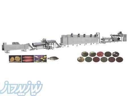 سازنده خط تولید خوراک آبزیان(غذای ماهی)با ظرفیت 150kg تا 5ton