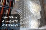 تولید وفروش انواع ورق الومینیوم ساده اجدار