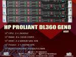 سرور HP DL360p Gen8 8sff