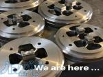 طراحی و ساخت قالب های اکستروژن آلومینیوم برند COMS ترکیه