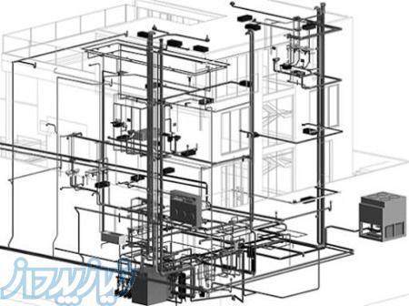 نقشه کشی تاسیسات مکانیکی ، قیمت طراحی تاسیسات مکانیکی ساختمان