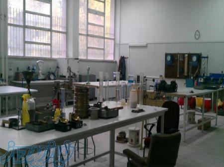 آزمایش بتن - میلگرد - خاک (ژئوتکنیک) - جوش