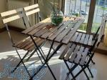 قیمت میز و صندلی تاشو چوبی ، فروش صندلی تاشو در اصفهان
