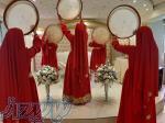 گروه دفنوازی و ساقدوشی بانوان برای مجالس عروسی،ساز و دهل