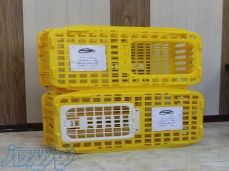 قفس حمل مرغ زنده ، فروش ویژه سبد زنده کش مرغ