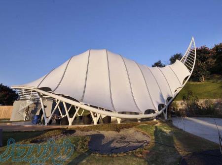 طراحی و اجرای سازه کششی و سازه چادری در تهران و کرج