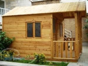 کلبه های چوبی پیش ساخته رویاساز