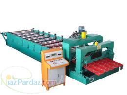 سازنده ماشین آلات رول فرم کرکره سینوسی ذوزنقه دوطبقه