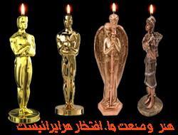مجسمه های بی نظیر از جنس پارافین   شمع
