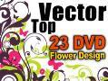 طرح وکتور برداری   top vector   23 dvd