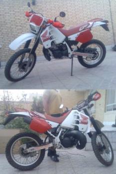 فروش honda crm 250cc در حد صفر - يزد