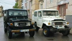 جیپ تویوتا لندکروز jeep toyota 2f