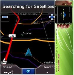نقشه دیجیتال ایران با قابلیت مسیر یابی