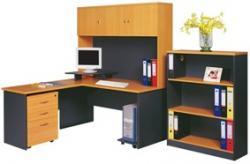 میز تحریر کتابخانه و تجهیزات چوبی وفلزی