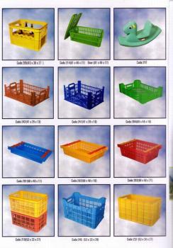 انواع جعبه و سبد پلاستیکی جهت بسته بندی