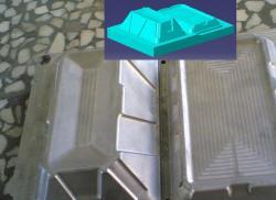 ساخت قالب پلاستیک cad cam