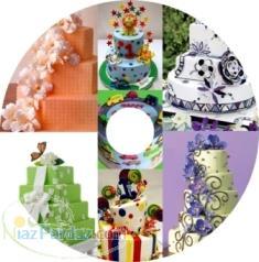 CD مدل کیک