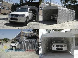 طراح و سازنده انواع پارکینگ سقف و سازه های چادری