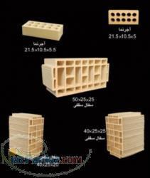 سفال ساختمانی مجتمع سفال سازان یزد