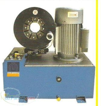 شیلنگ های فشار قوی و صنعتی سیم دار دستگاه پرس هیدرولیک