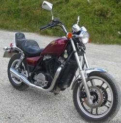 فروش honda vt 750cc طرح هارلی  - يزد