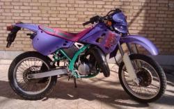 فروش kawasaki kdx 125cc برگ سبز گمرکی  - يزد