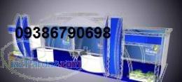 غرفه-غرفه نمایشگاهی-اسپیس فریم-ساخت غرفه