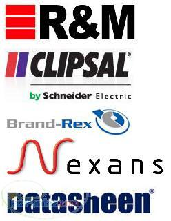 فروش کابل شبکه (R M CLIPSAL BRANDREX NEXANS