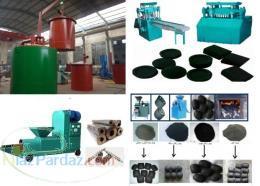 دستگاههای تولید ذغال قالبی از خاک اره و خاکه ذغال