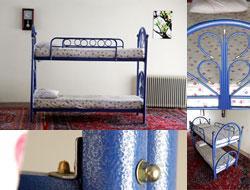 تخت خواب فلزی دوطبقه با تشک خوشخواب - تهران