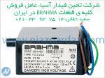 شرکت تامین فیدار اسیا عامل فروش کلیه قطعات BRAHMA ایتالیا در ایران