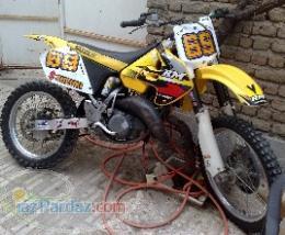 rm 125 مدل 2000 آر ام سوزوکی
