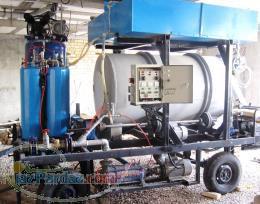 دستگاه تک فاز تولید فوم بتن (بتن سبک)